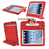 #9: Globus Geschaft - iPad Cover Kids, Children Safe Kids Friendly Protective Foam Case Cover Handle Stand for Apple iPad 2/3/4