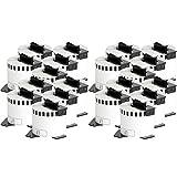 20x compatible Etiquetas continuas DK22205 blanco para Brother impresora de etiqueta QL1050 / QL1060 / QL500,...