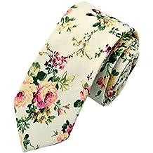 Amazon.es: corbata de flores - 4 estrellas y más