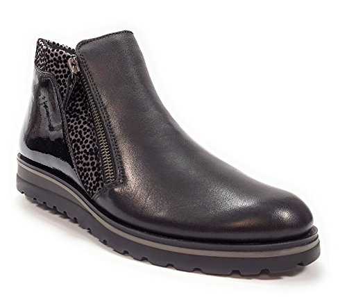 Noir Bottes R1989 Oui Femme Boots et Remonte Semelle Amovible Noir 5nzq1wARA