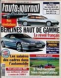 AUTO JOURNAL (L') [No 412] du 08/06/1995 - NOS REVELATIONS - BERLINES HAUT DE GAMME - LE REVEIL FRANCAIS - LES SALAIRES DES CADRES DANS L'AUTO - TESTS AUTORADIOS RDS - 6 TOUT-TERRAINS BIEN RESPECTACLES - ALFA ROMEO 146 - OPEL ASTRA CDX 21 16S - PEUGEOT 106 AUTOMATIQUE - ROVER 620 TI LUX - SAAB 900 2.3 SE