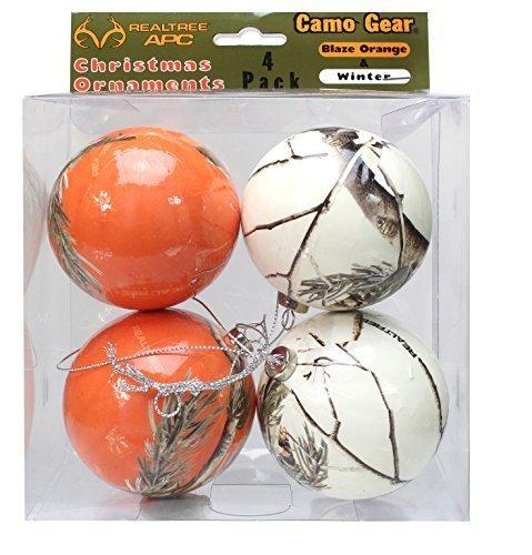 realtree-camo-christmas-ornaments-orange-white-4-pk-camouflage-by-havercamp