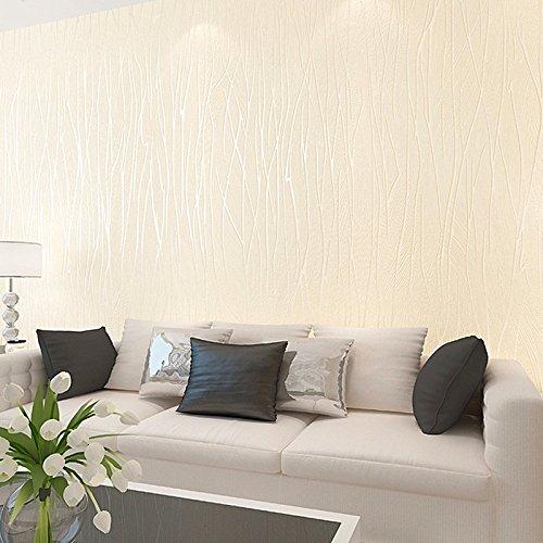 Zhzhco Einfache Ebene Streifen Vertikale Streifen Wallpaper 3D Wallpaper Moderne Schlafzimmer Nicht-Gewebe Farbe Wallpaper Wallpaper Wohnzimmer-Tv An Der Wand Im Hintergrund (0,53 M*10M)