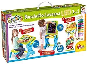 Lisciani Giochi - 77465 Juego para niños Carotina Banquete LED, Juego y Aprendizaje 3 en 1, Edición 2019