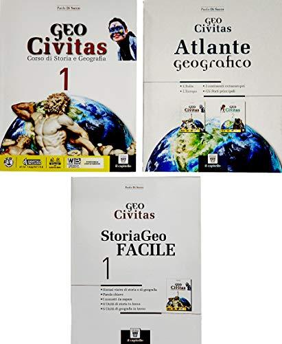 Geocivitas. Con Storiageo facile e Atlante. Per il biennio delle Scuole superiori. Con ebook. Con espansione online: 1