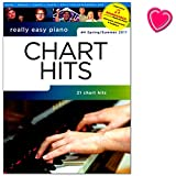 Really Easy Piano - Chart Hits - Nr. 4 Spring / Summer 2017 - Songbook mit Online-Audio und bunter herzförmiger Notenklammer