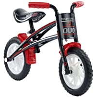 Townsend Duo Boys' Kids Bike Black/Red 1 speed puncture proof tyres comfy ergonomic grips