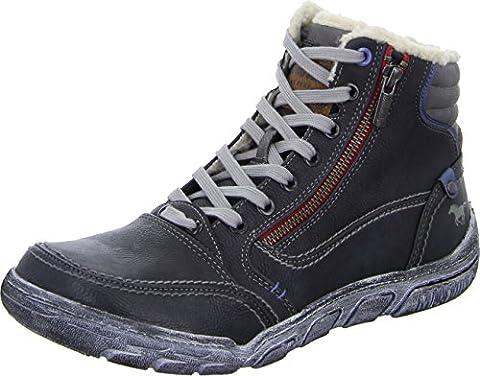 Mustang 4032-605 Schuhe Herren Stiefel Boots , Schuhgröße:44;Farbe:Grau