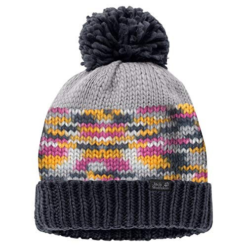 Jack Wolfskin Womens Ladies Hopewell Rock Thermal Winter Bobble Cap 50b3e6f79864