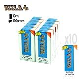 filtres rizla + ultra slim en sticks x10 boites