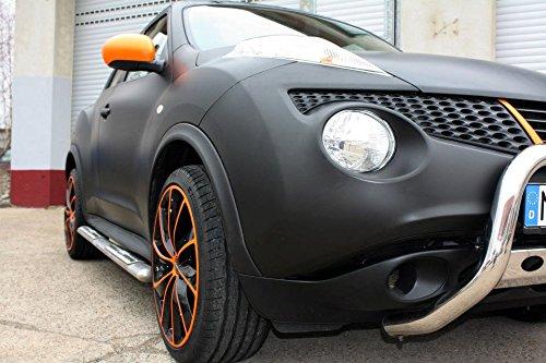 3M - Pellicola adesiva per auto 1080M12 di qualità premium car wrapping nero scuro opaco 152cm x 50cm