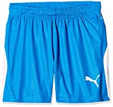 Puma Kinder Liga Shorts, Electric Blue Lemonade/White, 152