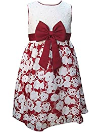 Girls Dress KCL Red Party Prom Dress Fully Lined Ages 2 Years up to 13 Years