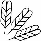 Ruco V460 - Set 6 griglie di supporto per piante rampicanti