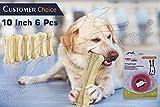 #8: Pets Empire Pressed Dog Bone, (XLarge 10-Inch ) 10 Inch Bone X 6 Pcs