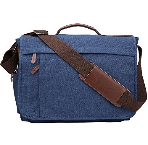 Umhängetaschen Herren Schultertasche Laptoptasche 14 Zoll 17 Zoll Laptop Tasche Messenger Bag Arbeitstaschen Businesstasche Ordner Arbeit Reise Sport von Niceeday Kuriertasche