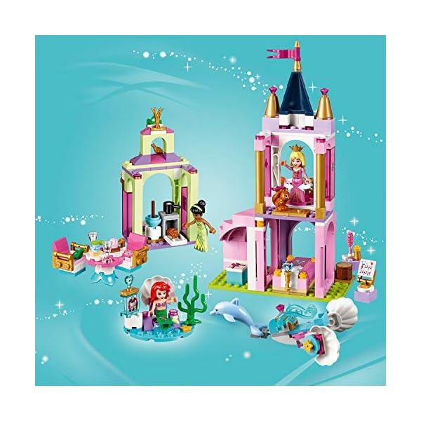 LEGO Disney Princess - I festeggiamenti reali di Ariel, Aurora e Tiana, 41162 5 spesavip