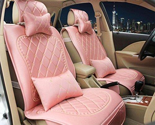 XW Vier Jahreszeiten Stoff Tag Seide Auto Kissen Sitzbezug , Pink,pink