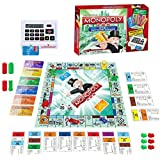 TEC TAVAKKAL Banking Board Game for 2-6 Player Money & Assets Games Board with Electronic Banking Unit and 6 Cool Banking Cards