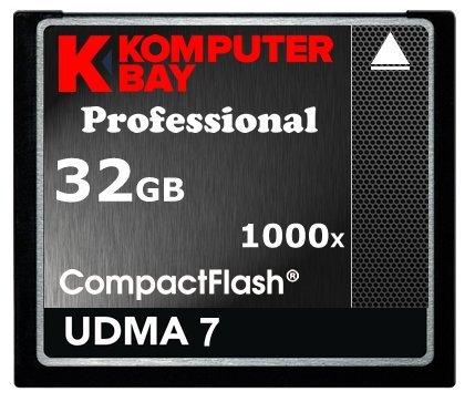 Komputerbay 32Go CF COMPACT Professional Flash Carte 150 Mo/s Vitesse extrême de UDMA 7 RAW 32Go