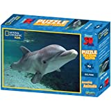 [Sponsored]Prime 3D National Geographic Dolphin Super 3D Puzzle (48 Pieces)