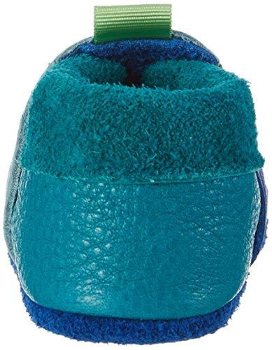 Pololo - Pololo Chamäleon, Pantofole Unisex – Bimbi 0-24 blu (blu)