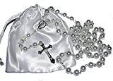 Die besten Boy First Birthday Geschenke - First Holy Communion Rosary Beads - 1st Communion Bewertungen