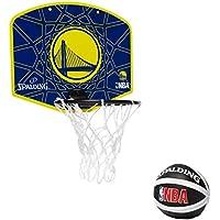 Spalding NBA Miniboard Golden State (77-642Z) - Gelb/Blau