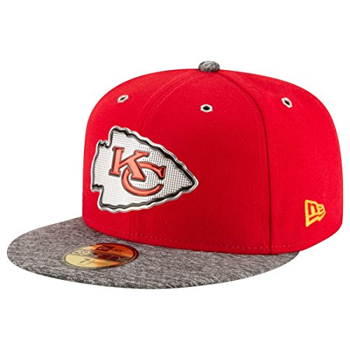 New Era Kansas City Chiefs 2016 Onstage Draft 59FIFTY Fitted NFL Cap 7 1/8