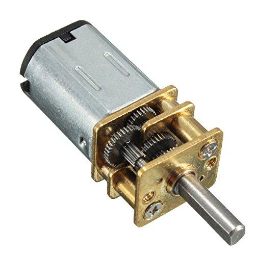 LEORX CC 6V 30RPM Micro Elettrico Riduzione Metallo Ingranaggio