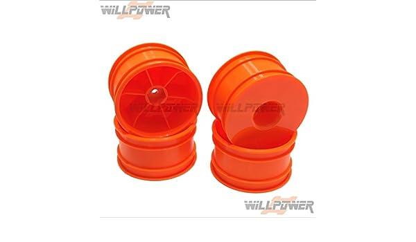 Hongnor Jammin Truck Orange #TMS-29O CRT.5 Dish Wheel RC-WillPower