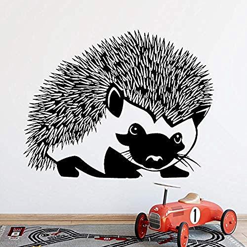 Wandaufkleber Wohnen Wandtattoos Wandaufkleber Igel Wohndekoration Wandvinyl Wandtattoos Tapeten Aufkleber Tier Igel 58x75cm