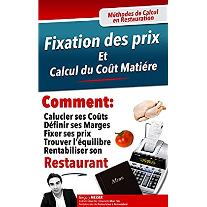Comment fixer les prix de la carte de son restaurant ?