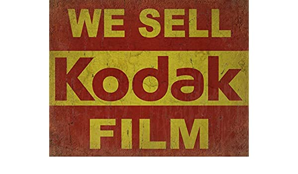 """/""""Kodak Métal Tin Signe Affiche Plaque Murale"""