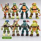 Wild TN Versione Classica Mobile Congiunta della Bambola Modello Tartaruga Ninja Giocattolo Ornamenti Regalo Bambola A