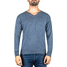 Pullover | Sweater | Maglione con Scollo a V da Uomo 100% Cachemire (S-XXL)