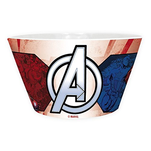 ABYstyle - Overwatch Marvel cuenco Iron Man vs Captain America Unisex-Adult, abybol013