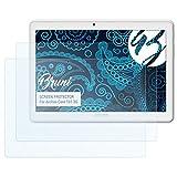 Bruni Schutzfolie für Archos Core 101 3G Folie - 2 x glasklare Displayschutzfolie