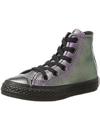 Converse Ctas Hi Violet Black, Zapatillas Altas Unisex Niños