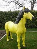 Pferd lebensgroß in XXL zur Dekoration