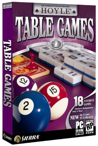 Hoyle Table Games 2004 - PC by Sierra