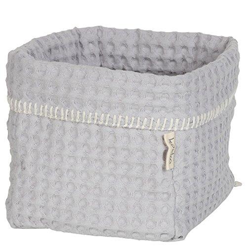 Aufbewahrungskörbchen für Wickeltisch und Kinderzimmer 1015-11-020 in silver grey von koeka