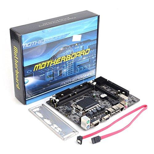 Motherboard, H55A1LGA 1156DDR3RAM 8G Board Desktop-Computer Mainboard 6Kanal Mainboard (Ram Board Desktop)