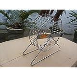 Hamster Wheel, Guinea Pig Wheel Mice Or Rat Wheel In Ss Size 6 Inch Dia