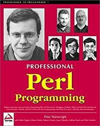 Professional Perl Programming