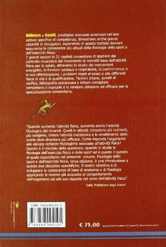 Zoom IMG-1 fisiologia dell esercizio fisico e