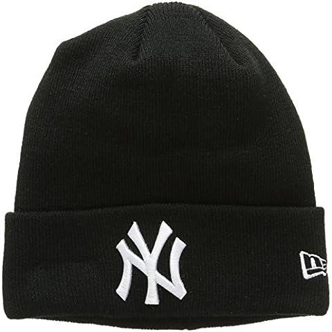 New Era Essential Ny Yankees Cuff Knit, Gorro de Punto Para Hombre