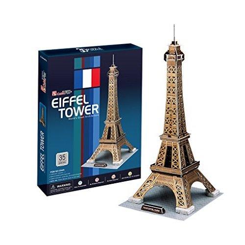 Cubic Fun C044H - 3D Puzzle La Torre Eiffel Parigi Francia