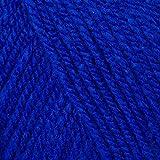 Patons - Doppelstrickgarn / Wolle 100g, verschiedene Farben - 100% Acryl, Königsblau