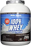Body Attack 100% Whey Protein, Chocolate Brownie, 1er Pack (1 x 2.3 kg)